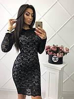 Соблазнительное кружевное платье