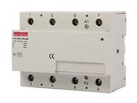 Модульный контактор e.mc.220.4.100.4NO, 4р, 100А, 4NO, 220 В, фото 1