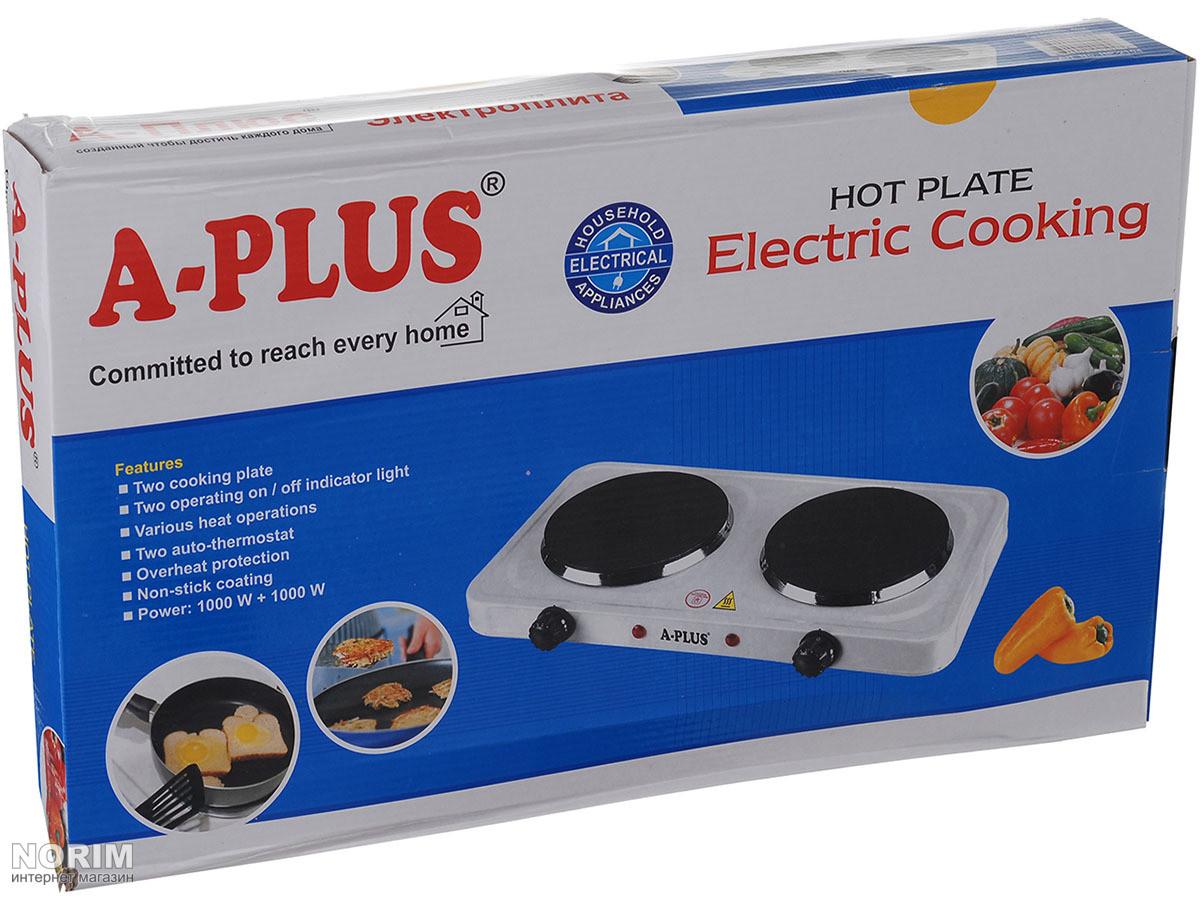 41c26512bdd ... Плита настольная электрическая A-PLUS (2104)
