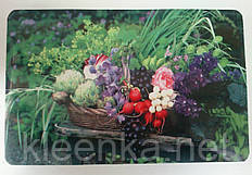 Салфетка для сервировки стола и украшения интерьера с овощами,  28см*40см, серветки, сети