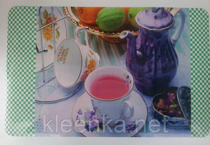 Моющаяся салфетка для сервировки стола, на тумбочку, полочку,  28см*40см, серветки миючі, фото 2