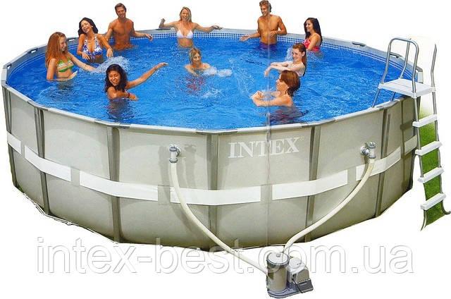 Каркасный бассейн Intex Ultra Frame Pool 54456, фото 2