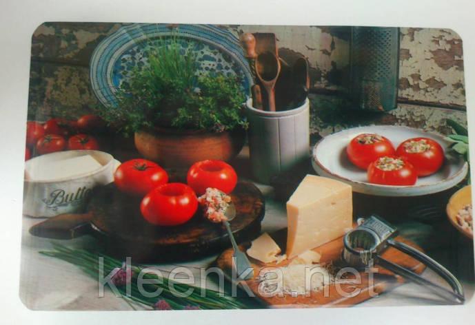 Салфетка пластик под тарелки, на тумбочку, полочку,  28см*40см, серветка сервіровочна, фото 2
