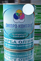 Краска масляная Днепр-Контакт белая 1 кг