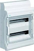 Щит распределительный на 24 (28) модуля, накладной с прозрачными дверями, IP65, VECTOR VE212DN