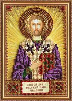 Набор для вышивания бисером ААМ-119 Святой Лев (холст)
