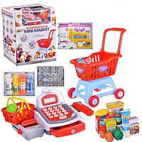 Детский Кассовый аппарат и тележка с продуктами (2815FN/5623FN)