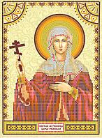 Схема для вышивания иконы бисером АСК-020 Святая Дарья (холст)