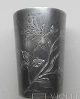 2 стопки из Серебра 84 пробы, Царская Россия, столовое серебро