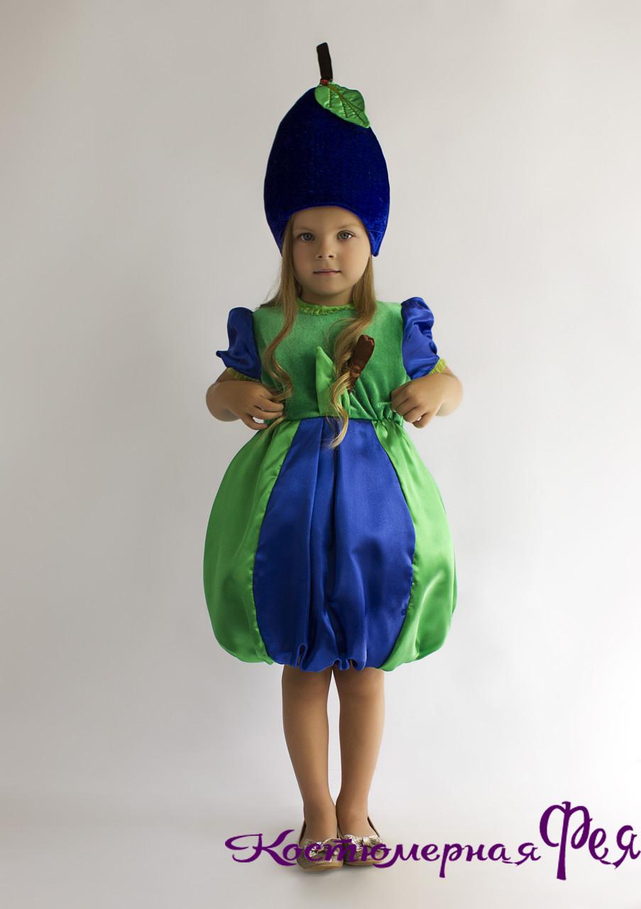 Сливка, карнавальный костюм сливы (код 59/1)