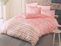 Постельное белье Luoca Patisca Ranforce MORBIDO розовый Евро