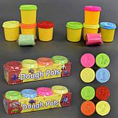 Тесто для лепки 4 шт в коробке, 2 вида, 4 цвета (9218)