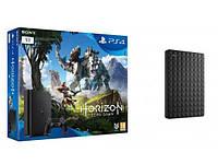 Игровая приставка PS4 1TB slim + Horizon Zero Dawn + DYSK SEAGATE EXPANSION 1TB