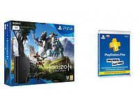 Игровая консоль Playstation 4 Slim 1TB + Horizon Zero Dawn + Playstation Plus 90 dni