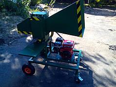 Измельчитель веток под бензиновый или электродвигатель (без двигателя)