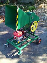 Измельчитель веток под бензиновый или электродвигатель (без двигателя) , фото 3