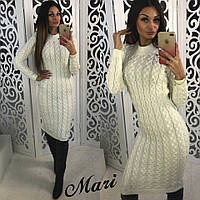 Очень теплое и стильное платье