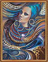 """Набор для вышивания бисером АВ-359 """"Цвета Африки"""" (холст)"""