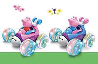 Игрушка Трюковая Машинка Перевертыш на Радиоуправлении Peppa Pig 9808-A202 Свинка Пеппа