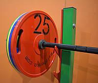 Штанга Олимпийская в сборе - 132,5 кг (АКЦИЯ)