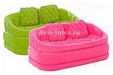 Надувной диван Intex 68573G (Зеленый)  интекс( 157 х 86 х 69 см.) киев, фото 3