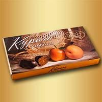"""Шоколадные конфеты """"Курага с орехом"""" 330 г т. м. КиевГрад"""