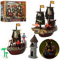 Корабль Пиратов детский игровой набор с фигурками 335-1MM