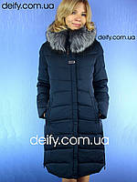 Пальто женское на тинсулейте. Symonder 7053 (48-56) Пуховики Clasna, Peercat, Damader, Decently, Snow Owl
