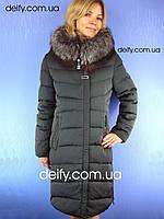 Пальто зимнее на тинсулейте. Symonder 7053 (48-56) Пуховики Clasna, Peercat, Damader, Decently, Snow Owl