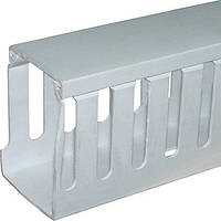 Короб пластиковый перфорированный e.trunking.perf.stand.45.65, 45х65мм, 2м