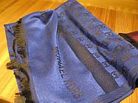 Кашемировый палантин Michael Kors синий