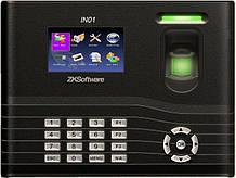 Био терминал ZKTeco IN01 для учета рабочего времени по отпечатку пальца