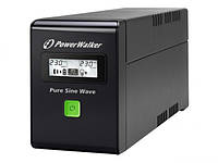 IMPAKT NEW UPS POWER WALKER 600VA 2X PL 230V, PURE SINE WAVE