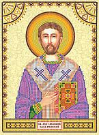 Схема для вышивания иконы бисером АСК-119 Святой Лев (холст)