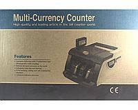Счетная машинка для денег с ультрафиолетовым детектором валют 6200