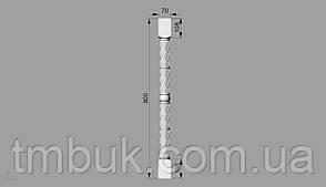 Балясина 11   - 900х70х70 мм, фото 2
