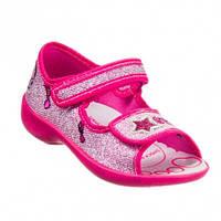 Детские босоножки для девочек розовые  3f 27-17.3 см