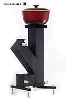 Ракетная турбо печь, фото 1