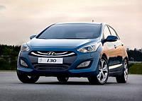 Фара левая эл. хром.(+ корректор) H7/H7/PY21W/W5W Хюндай (Hyundai i-30) 2012-