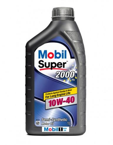 Моторное масло Mobil 10w40 Super 2000  1л
