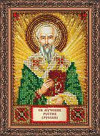 Набор для вышивания бисером ААМ-108 Святой Рустик (Руслан) (холст)