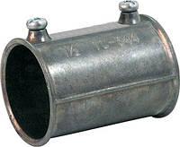 """Соединитель металлический e.industrial.pipe.connect.screw.2"""", на винтах, фото 1"""