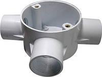 Коробка e.pipe.3.db.stand.20 соединительная трубная, 3 ввода, d20мм, фото 1