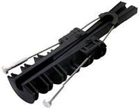 Анкерный изолированный зажим e.i.clamp.pro.rope.50.70, 50-70 кв.мм, на тросике, фото 1