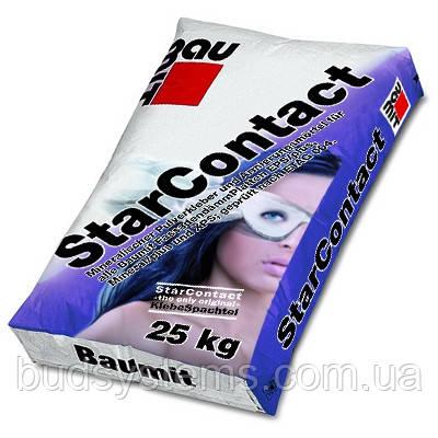 Клеевая шпаклевочная смесь Baumit StarContact, 25 кг