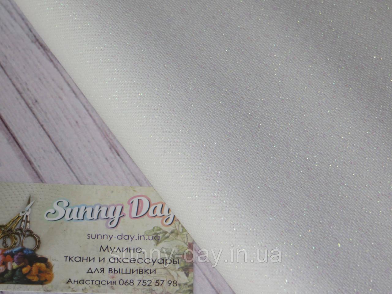 3270/11 Brittney Lugana, цвет  - белый с перламутровым люрексом, 28ct