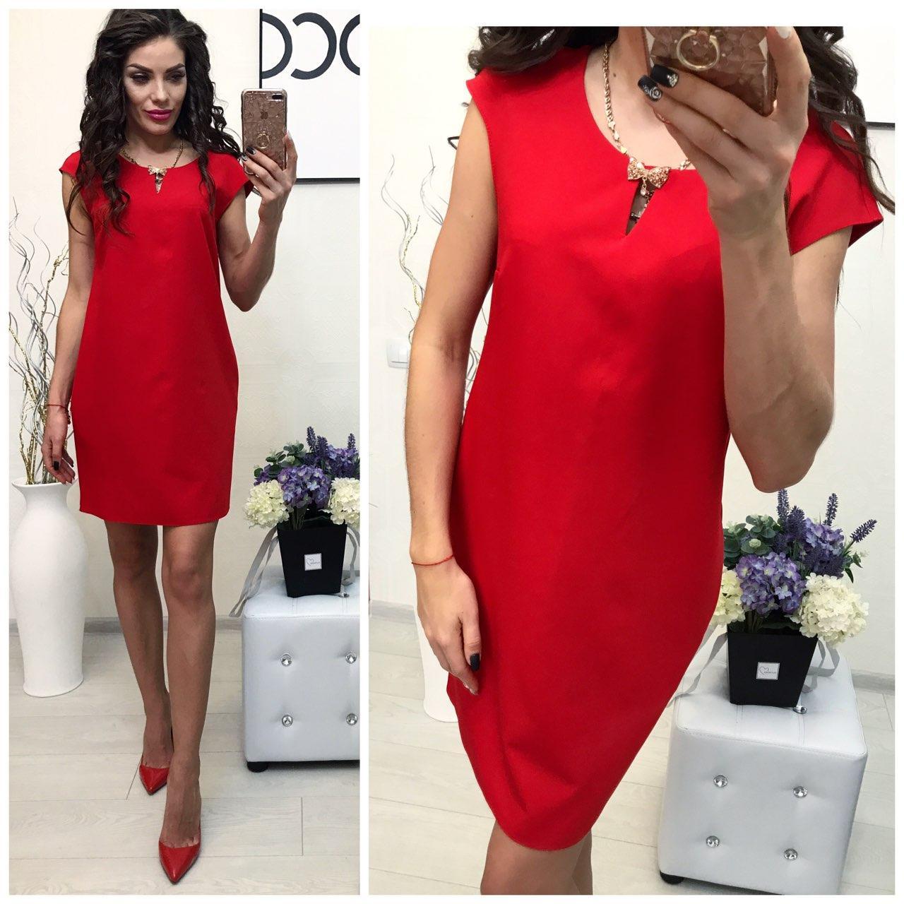 Платье нарядное (747/2) красный