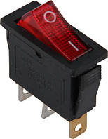 Переключатель клавишный e.switch.key.03, 3 pin, с индикацией