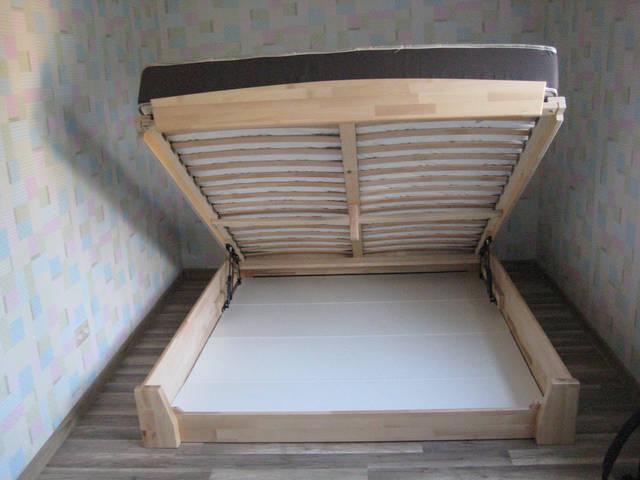 Кровать Селена Аури щит 102 (Натуральный бук)