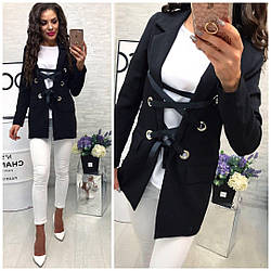 Женский удлиненный пиджак